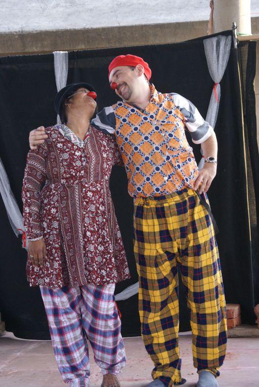 """Stage clown interculturel par """"Caravane Théâtre"""""""