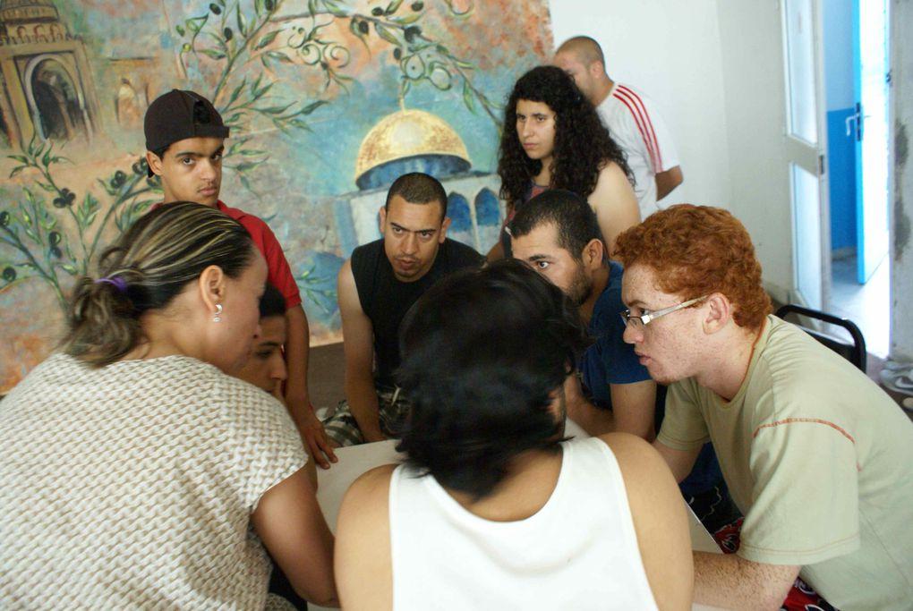 """Formation aux techniques du """"Théâtre Forum"""" juillet 2011 pour l'association """"Théâtre Forum Tunisie"""""""