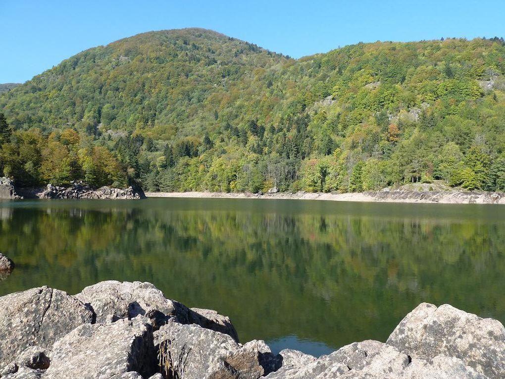 Découverte de la sauvage vallée de la Doller (Masevaux) et de ses merveilles naturelles et sauvages &#x3B; à savoir : les lacs d'Alfeld et de Sewen, la cascade du Wasserfall, la fuste de la Schahling Huette, etc !