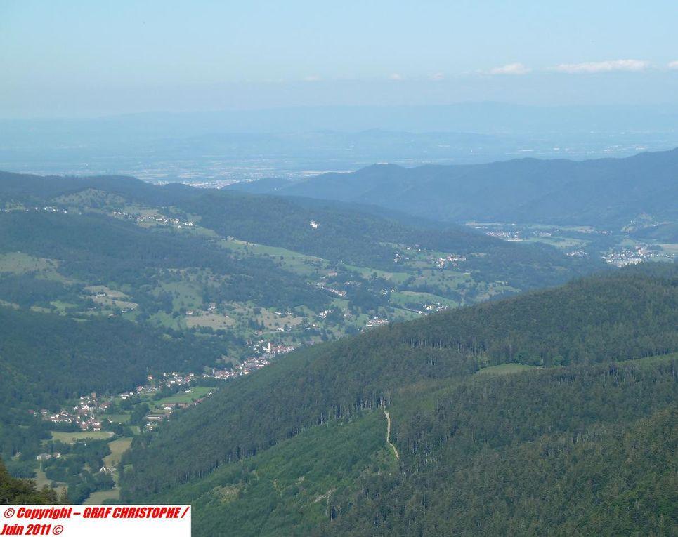 Choses exceptionnelles, que j'ai pu faire et contempler dans les Hautes-Vosges : traques de chamois, vues sur les Alpes, couchers de soleil rares, bonne bouffe montagnarde, randos effectuées avec Alex, etc !!!