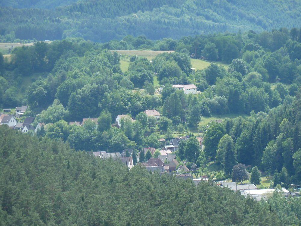 Découverte d'un site rocheux peu connu et peu couru du secteur de Busenberg (Palatinat) : le très pittoresque et remarquable Sprinzelfels !