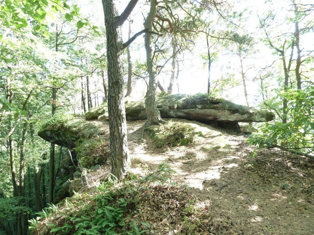 """Découverte d'un site pittoresque et méconnu du Trifelsland, à Wernersberg : le Heischberg (ou """" Runder Hut """" ) !"""