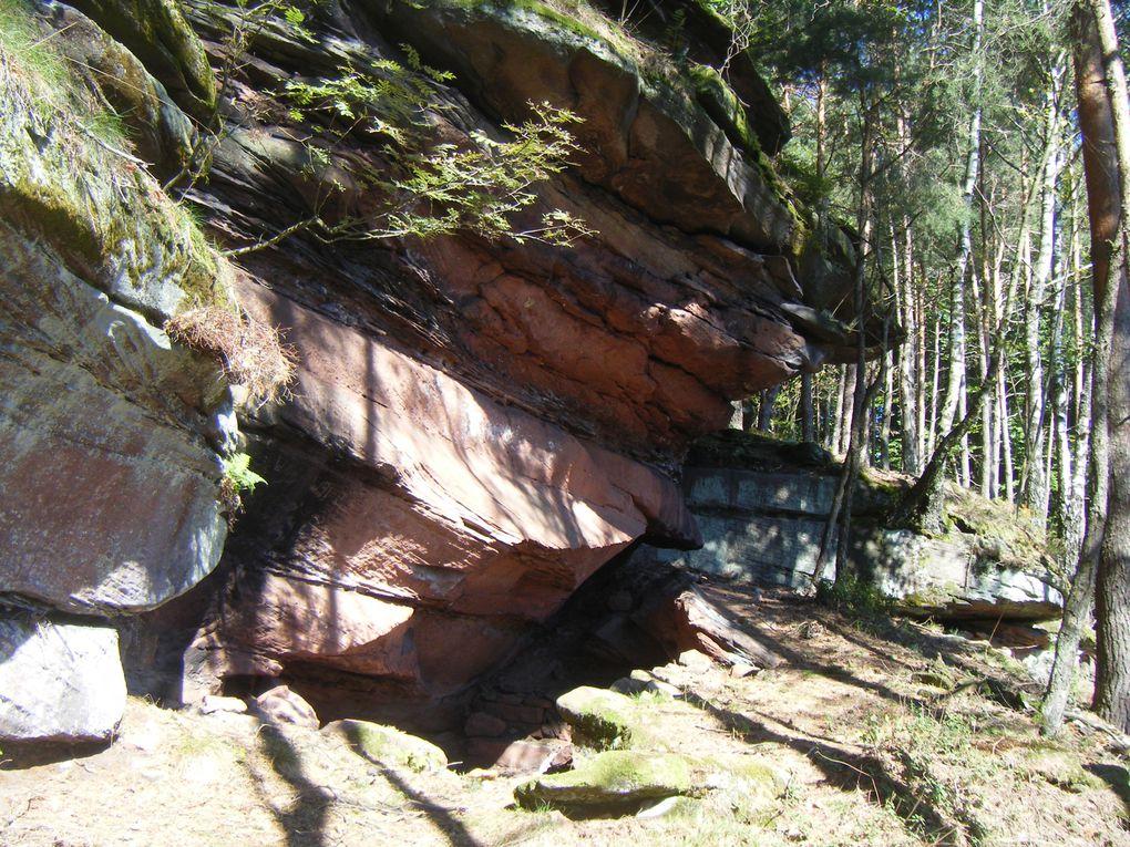 Vous recherchez des beaux panoramas, peu connus des randonneurs ? Ce secteur de la vallée de Steinbach est fait pour vous ... A plus de 500 mètres d'altitude, vous ne serez pas déçus, sous réserve de crapahuter un peu et de grimper quelques pent