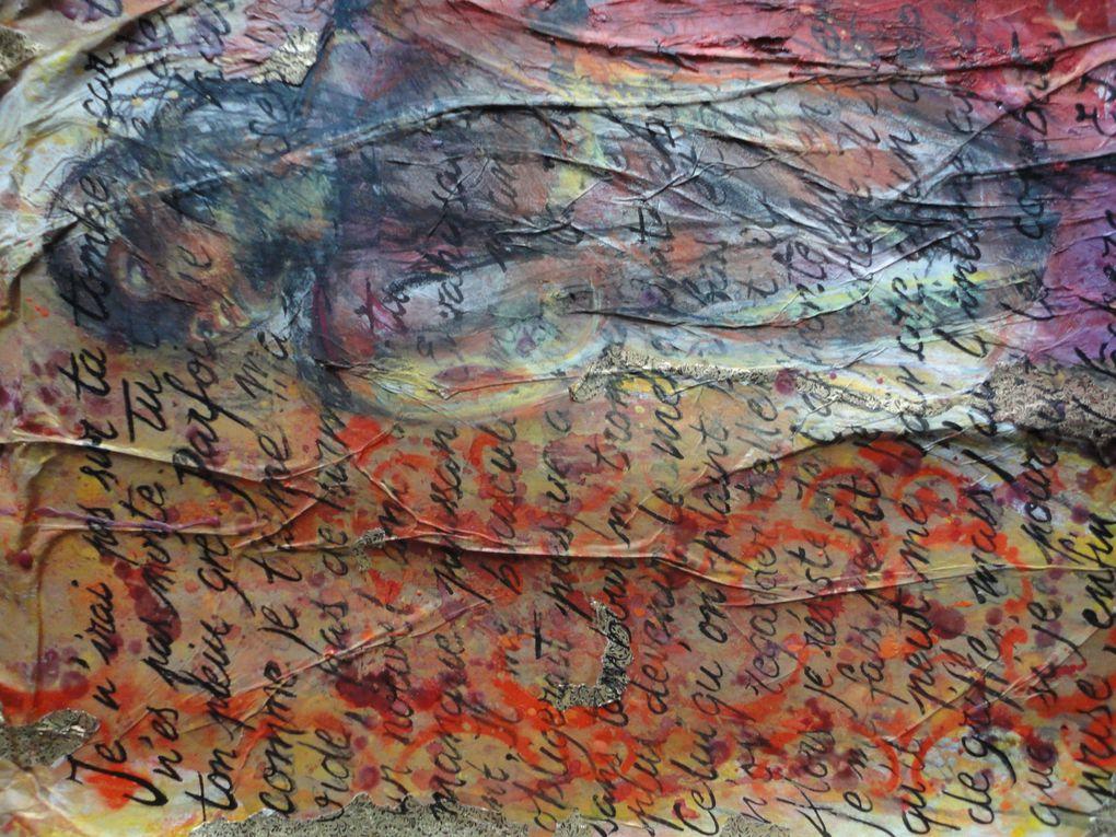 1+1=Ein & C. Une collaboration, une inspiration, une même envie de création. Réinterprétation personnelle des textes et photos d'Eric Imbault, réappropriation de son univers et plongée dans des abîmes communes...Pour en voir plus sur son tr