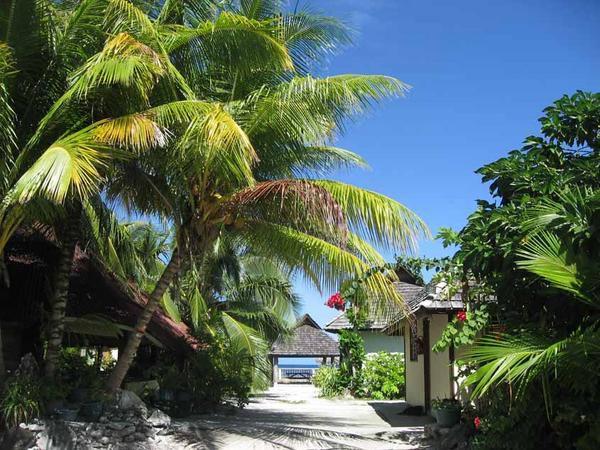 Rangiroa, atoll de l'archipel des Tuamotu