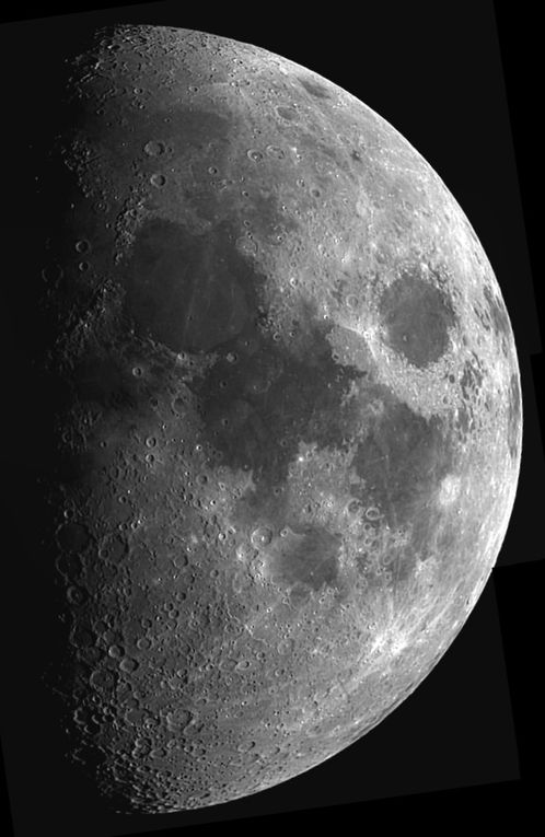 DIVERSES PHOTOS DE LA LUNE