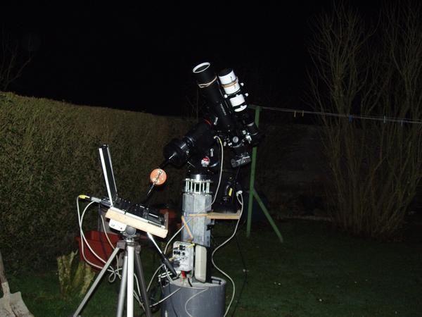 photos du matériel utilisé en astronomie
