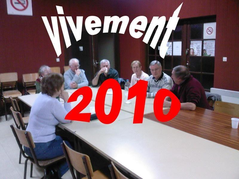 les activités de l'associations depuis décembre 2007