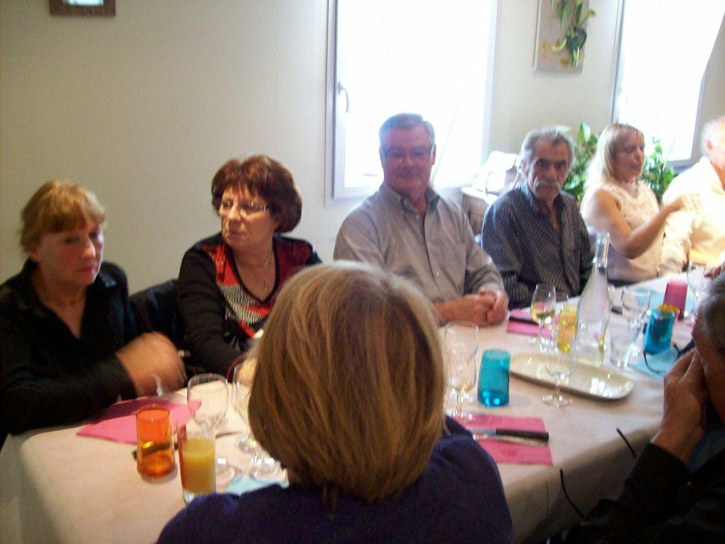 5ème repas des retrouvailles auberge du Pont Jeanne Rose dimanche 20 octobre 2013 photos Hervé DUBAND