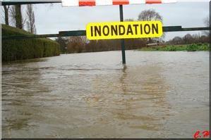 Guipry..Inondations du 24 au 27 Janvier 2009