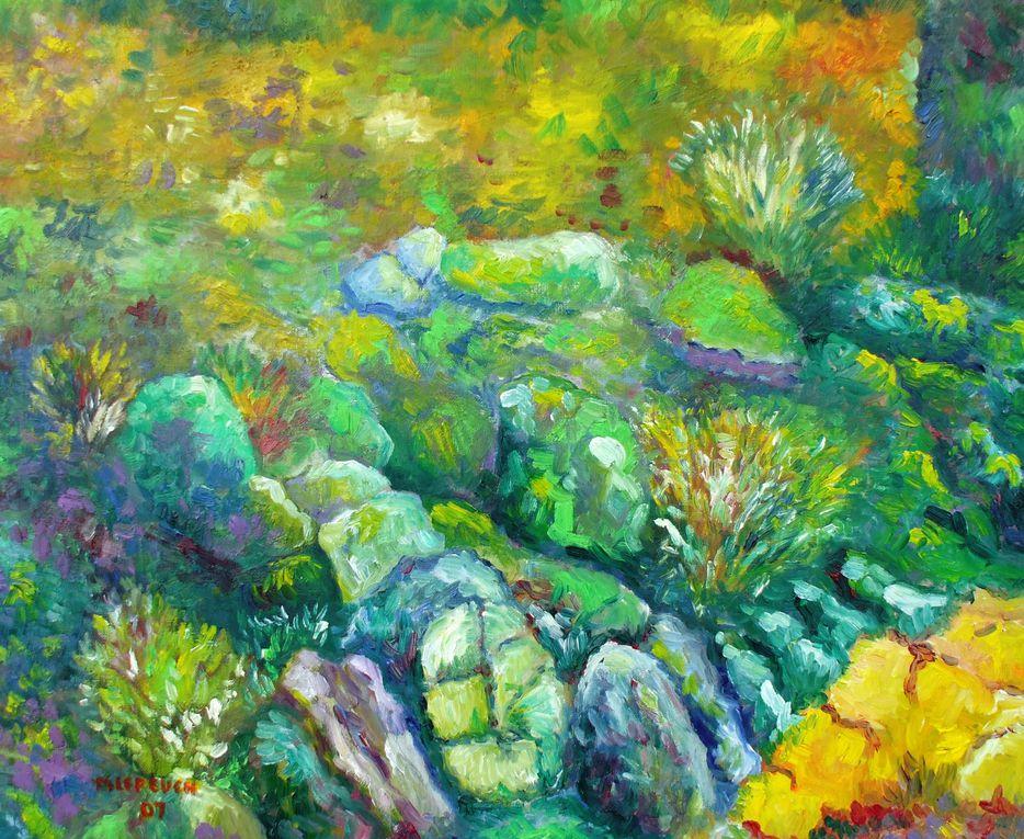 La géologie et la peinture
