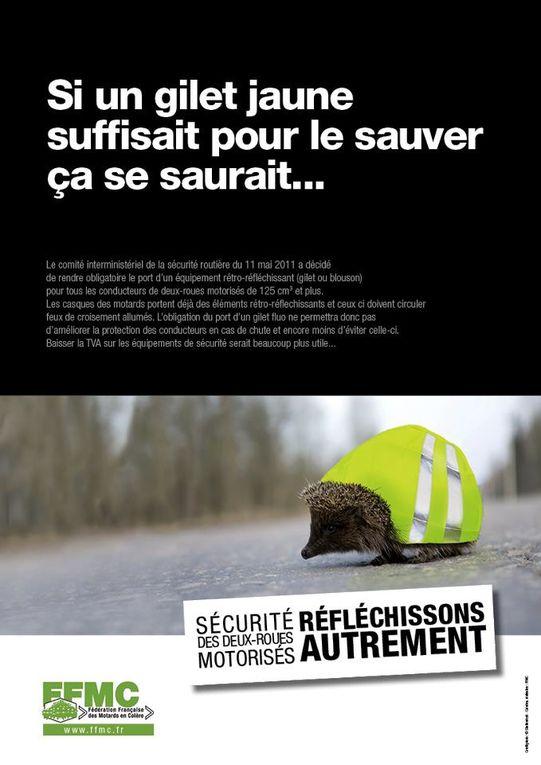 Il n'y a pas que le gouvernement qui peut parler de sécurité routière. Voilà la vision de la FFMC dans ce domaine.