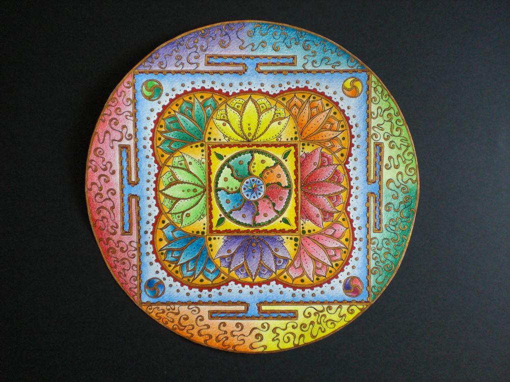 Album - Mandalas-Tibetains