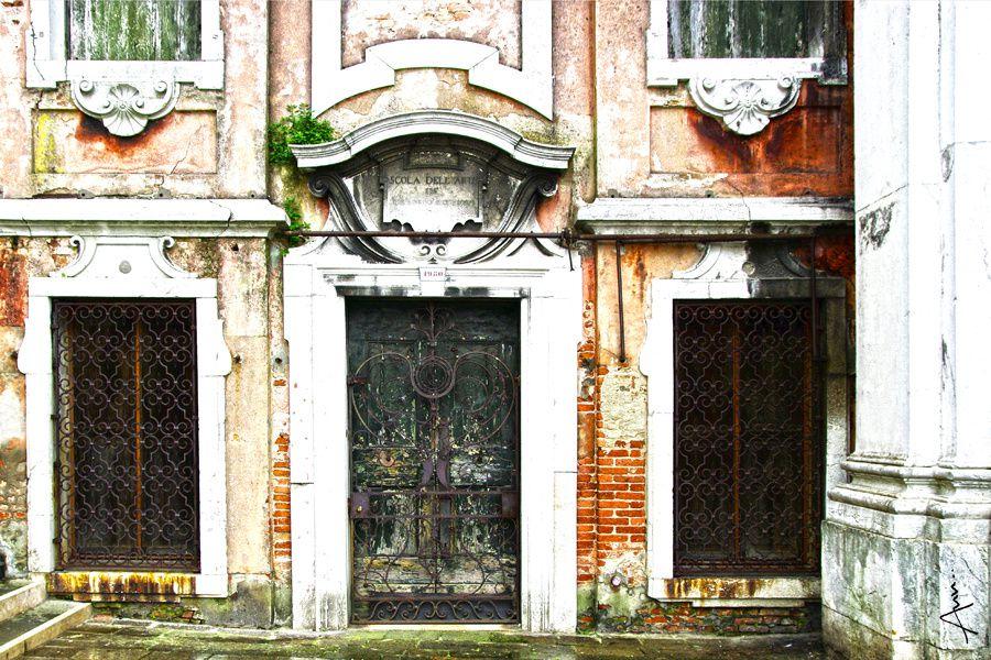 Venise, Italie, lagune,