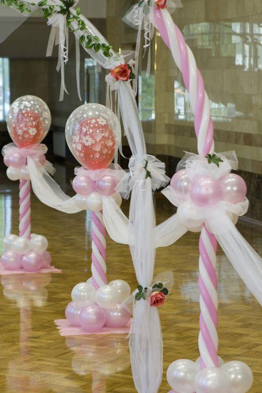 Décoration ballons pour anniversaire et mariage