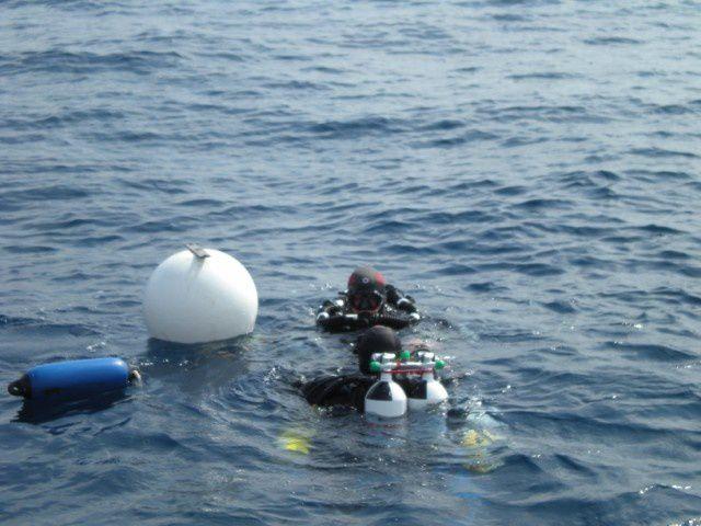 Vacance plongée avec le Fab. du 21 au 27 juin 2009, photo sur le bateau de Tek Aventure à St-Raph.