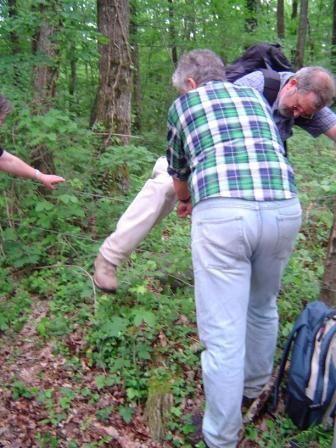 sur le chemin de Vaujoursmai 2008