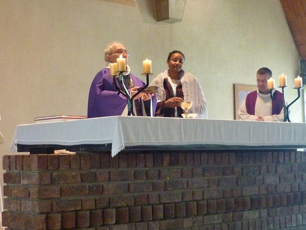 baptême de Chantal et rassemblement intergénérationnel.sur le thème de l'Alliance