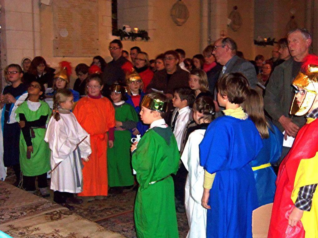 le 24 decembre 2012 à St Aubin de Sargé - 19h