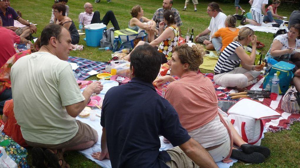 le mercredi 27 juinbalade vers St Michelcélébration de fin d'année de catébarbecue-pique-nique