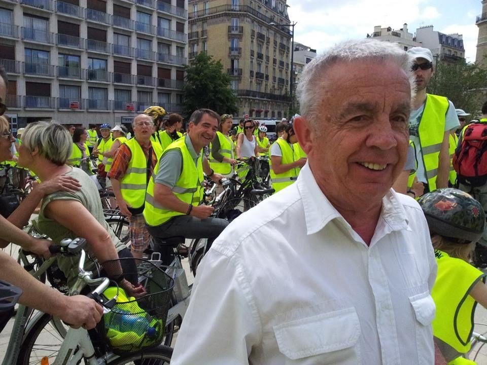 30 juin 2013, première rando vélo et roller intercommunale