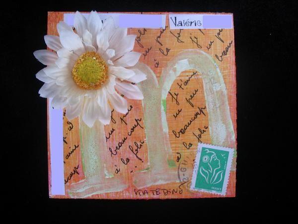 Album - Mails Art Reçus ABCdaire-Fleurs