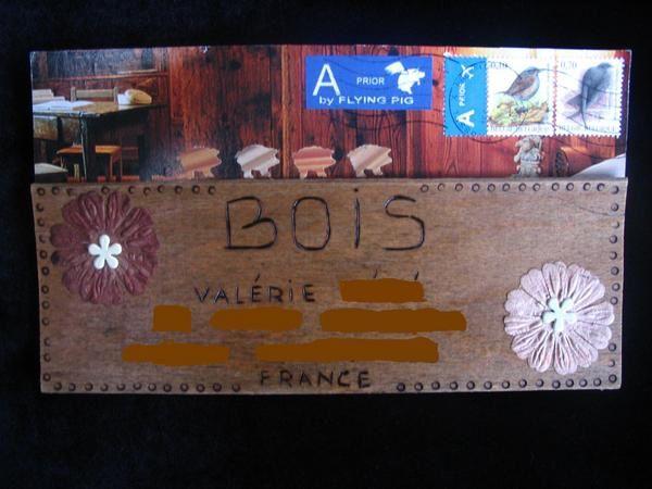 Album - Mails-Art Reçus Matière