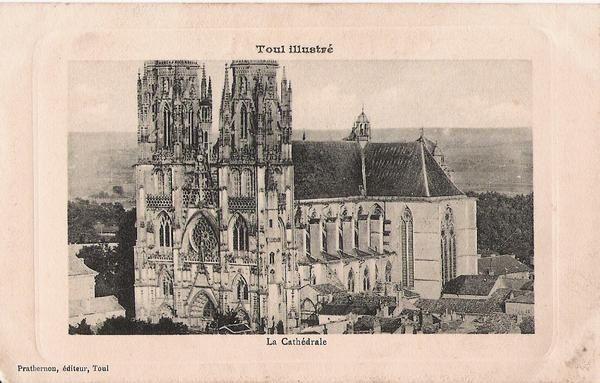 Album - Cartes postales de Toul