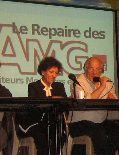 Journée extraordinaire à Thorens-Glières avec la conférence de Frédéric Lordon et le 1er Repaire des Repaires avec Radhia Nasraoui et biensûr Daniel Mermet !