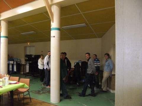 Le 1 Décembre 2012 salle des fêtes de CHAIL