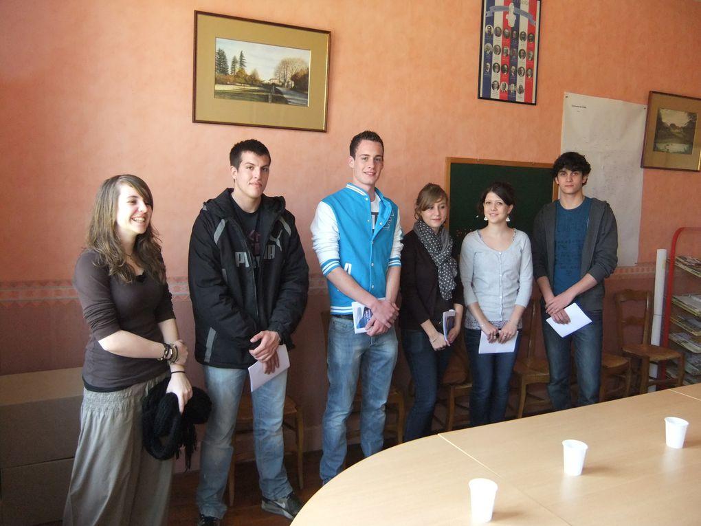 Album - Les jeunes votants 2012