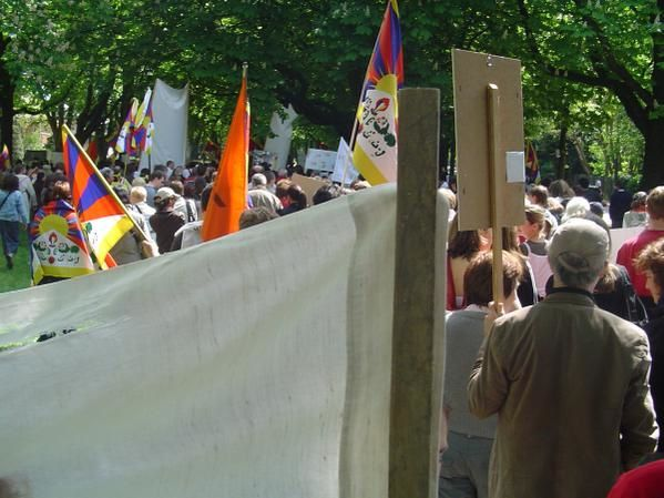 Photos de la manifestation.