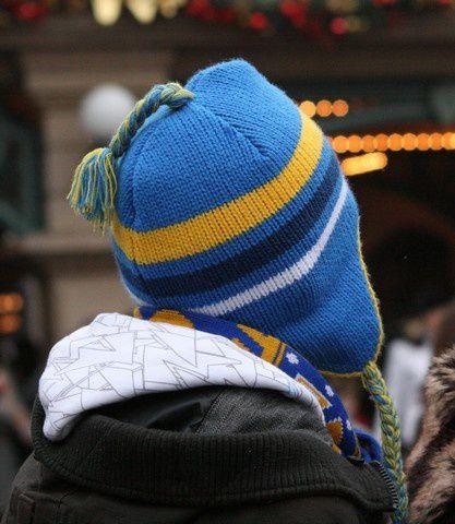 Chapeaux de la Saint-Sylvestre à Eurodisney.