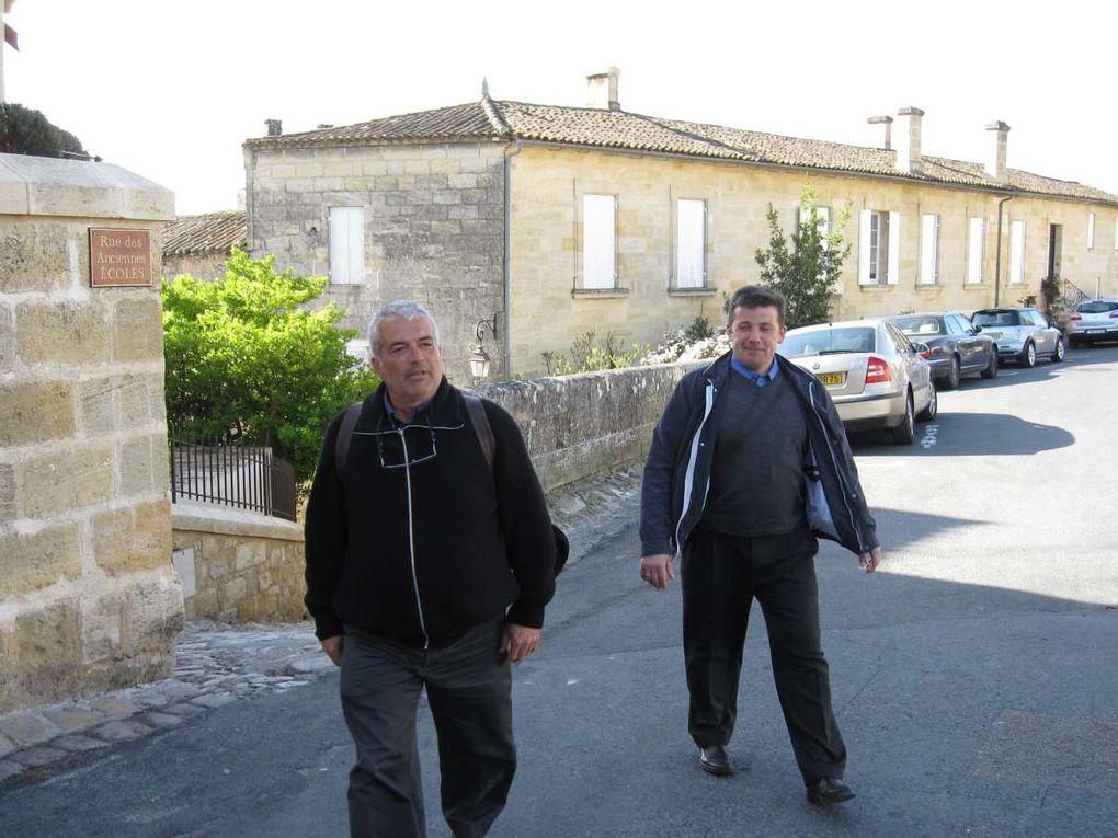 Visite du village de Saint Émilion