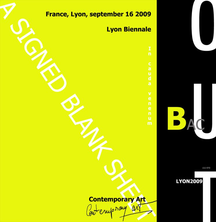 biennale lyon out english, contemporary art and visual arts.