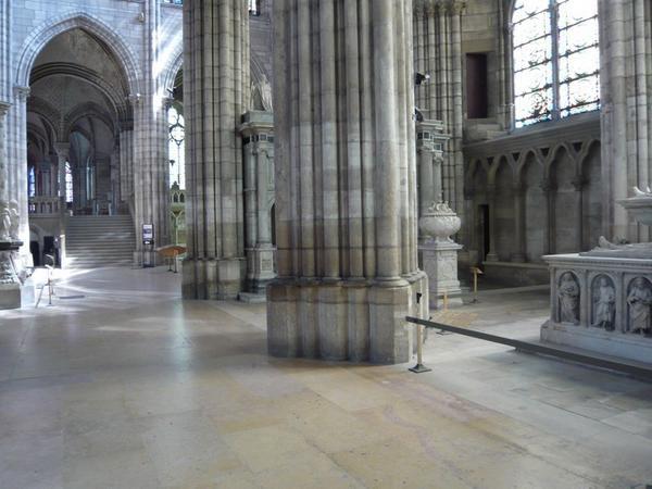 Visite de la Basilique des rois de France à St Denis le 10 juin 2008 avec 'l'Ardenne à Paris'.