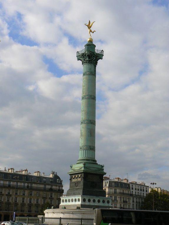 Rue typique du XIe arrondissement de Paris, près de la place de la Bastille