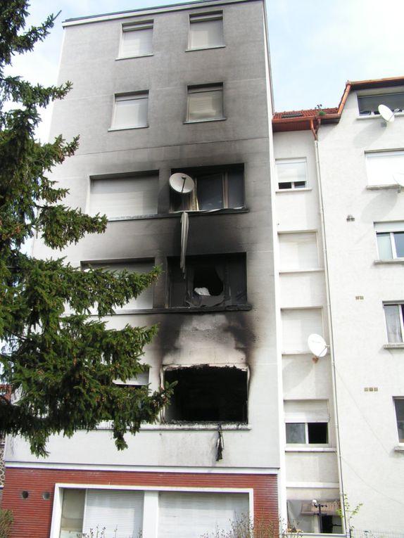 Dans la nuit du 11 au 12 avril, un incendie s'est déclaré au 50 rue Michelet. 4 appartements sont dévastés.