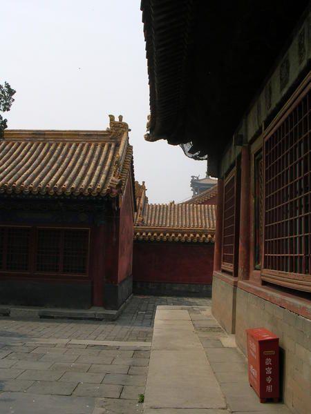 La cité pourpre, le jardin impérial ou a vécu le dernier Empereur Pu Yi.