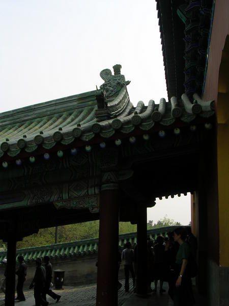 Le Temple impérial était un lieu de sacrifices et d'offrande classé UNESCO. Le Temple des Lamas est le seul de rite tibétain encore en activité à Beijing.