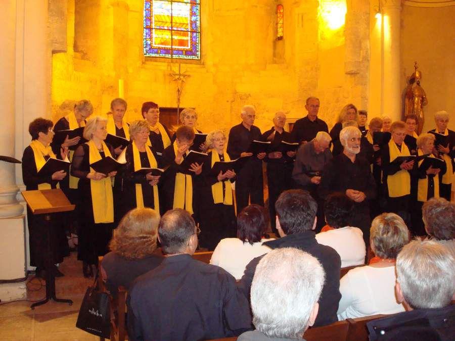 Jumelage Les trois Clochers, La Cantadissa comme tous les ans Avril 2009 à Thézan