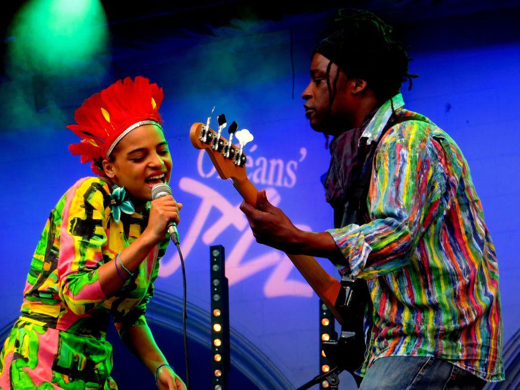 Orléans'Jazz 2013 au Campo Santo - Agathe Iracema & Brazilian Music Band, soirée Lauréats du Monde programmée par Stéphane Kochoyan