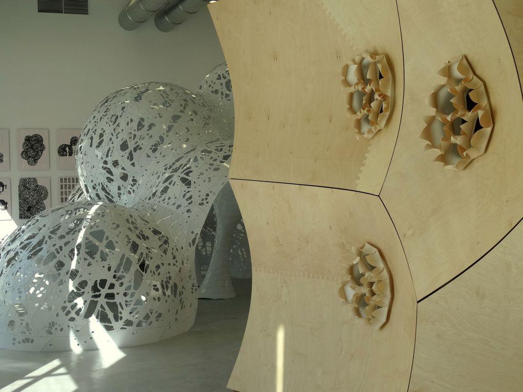 """Aurélie Filipetti,  Ministre de la Culture et de la Communication,  a inauguré """"Turbulences"""" le nouveau bâtiment du Fonds régional d'art contemporain (FRAC) .  Plus d'infos sur http://www.clodelle45autrement.fr/article-fonds-regional-d-art-contem"""