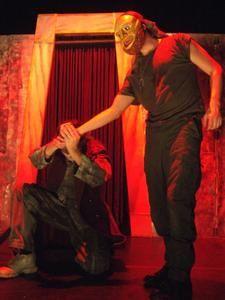 Représentation des VIES D'ULYSSE création du KRIZO Théatre (au théâtre Clin d'Oeil à St jean de Braye)
