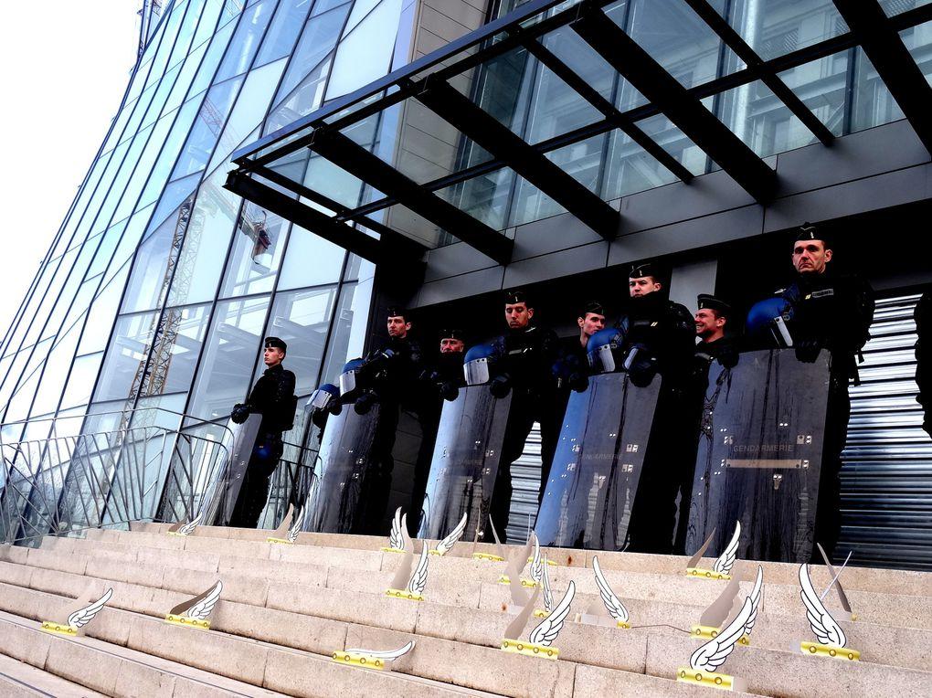 A clermont Ferrand et Orléans les salariés de la République du Centre luttent pour préserver leurs emplois