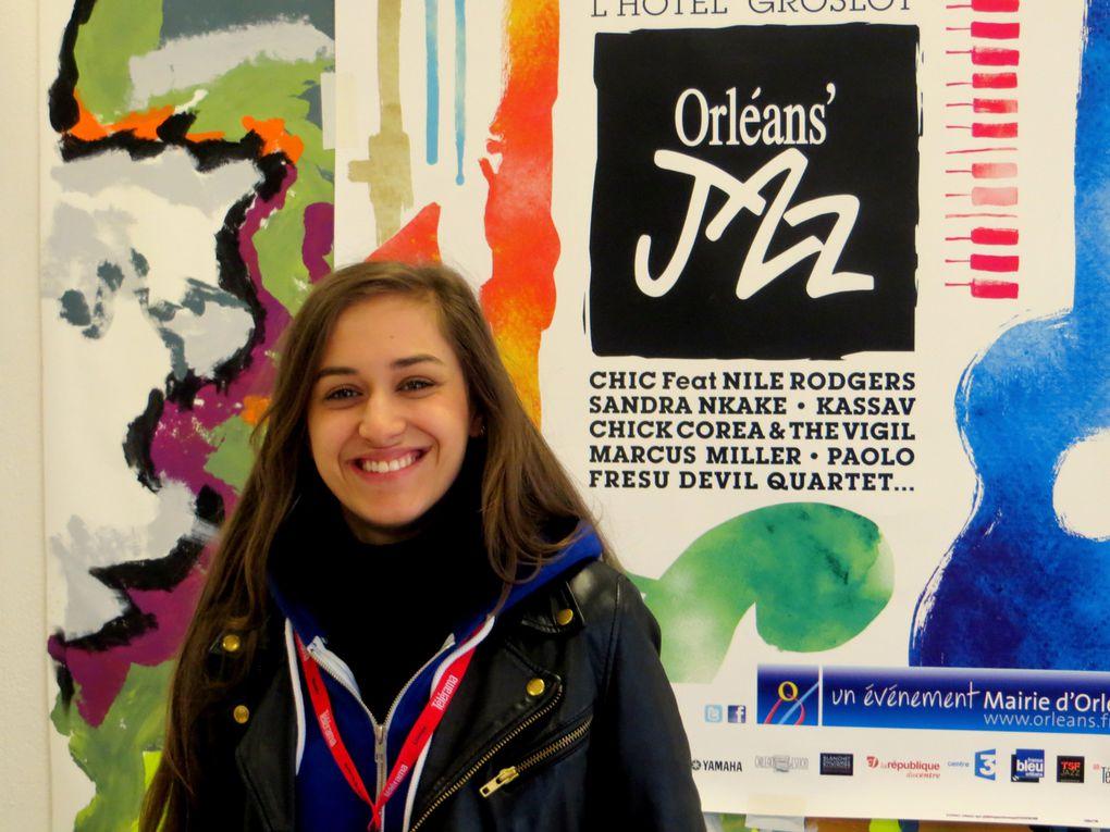 """Nina Attal au Campo Santo """"Lauréats du monde"""" programmés par par Stéphane Kochoyan dans le cadred 'Orléans'Jazz 2013"""