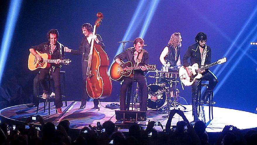 Dernière apparition de Johnny Hallyday sur scène au Zénith d'Orléans avant la fin du mythique TOUR 66
