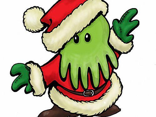 Bientôt les étoiles seront alignées. Les astres propices... En attendant, fétons Noël avec le plus célèbre des Grands Anciens ! &#x3B;)