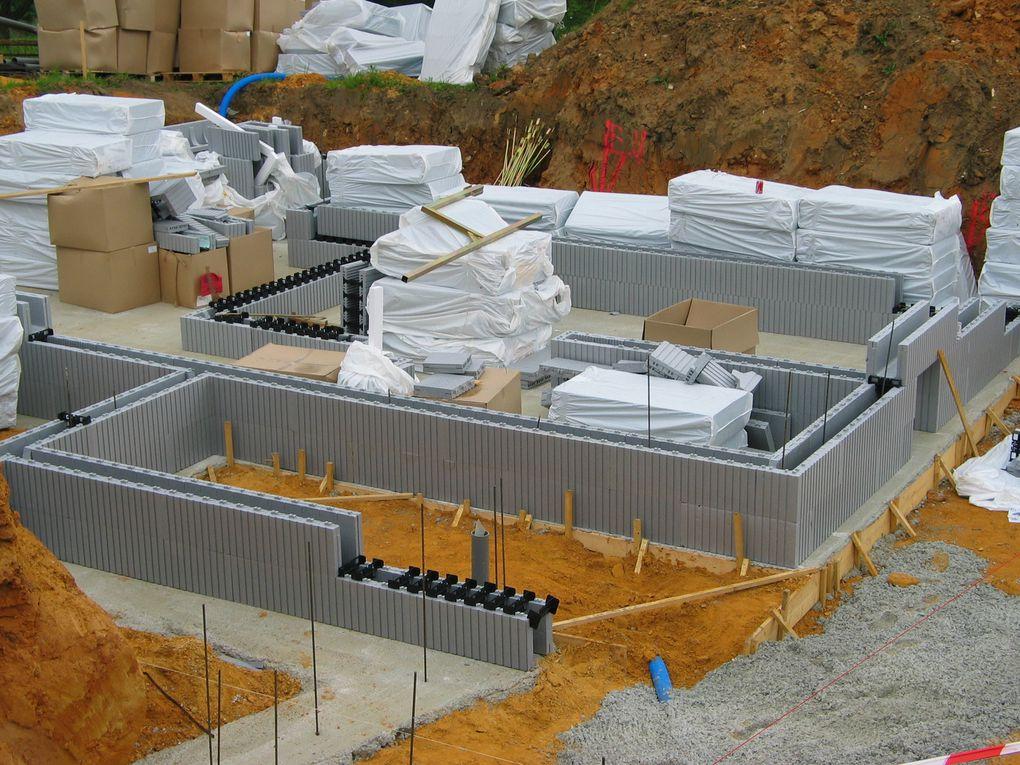 Implantation, terrassement,fondations, maçonnerie