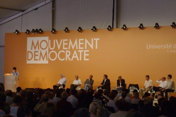 Album - Université de rentrée du Mouvement Démocrate 2008